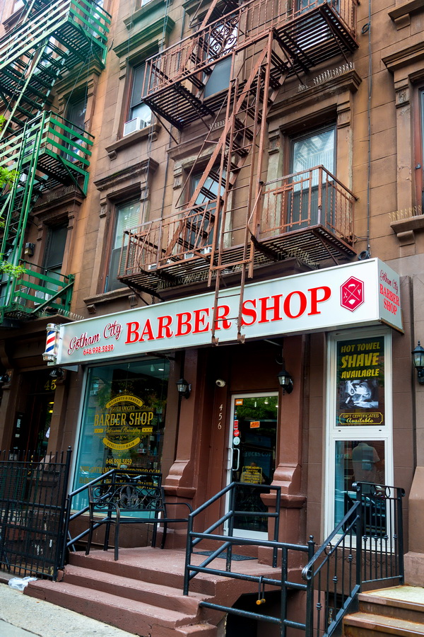 gotham city barber shop   nyc men s haircuts and more in